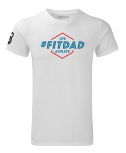 crossfit crosswear fit dad white-blue