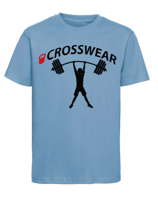 CW Kid Crossfit t-shirt strong blue